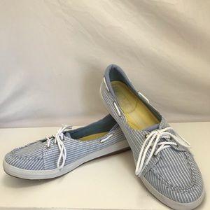 Keds Shoes - Keds Ortholite Striped Boat Shoes Sz 8.5